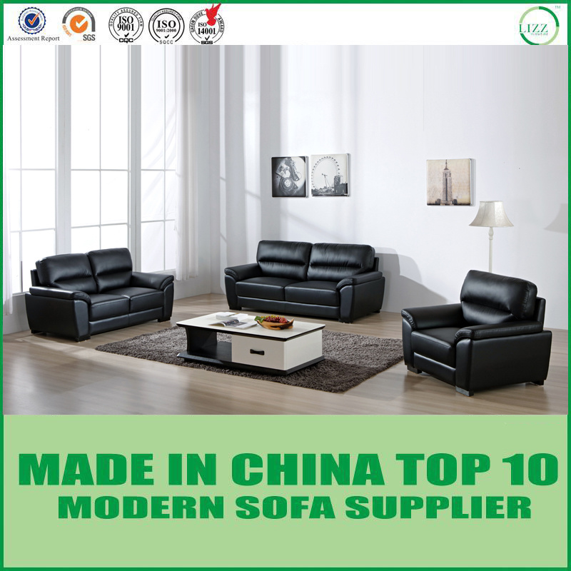Modern Italian Leather Couch
