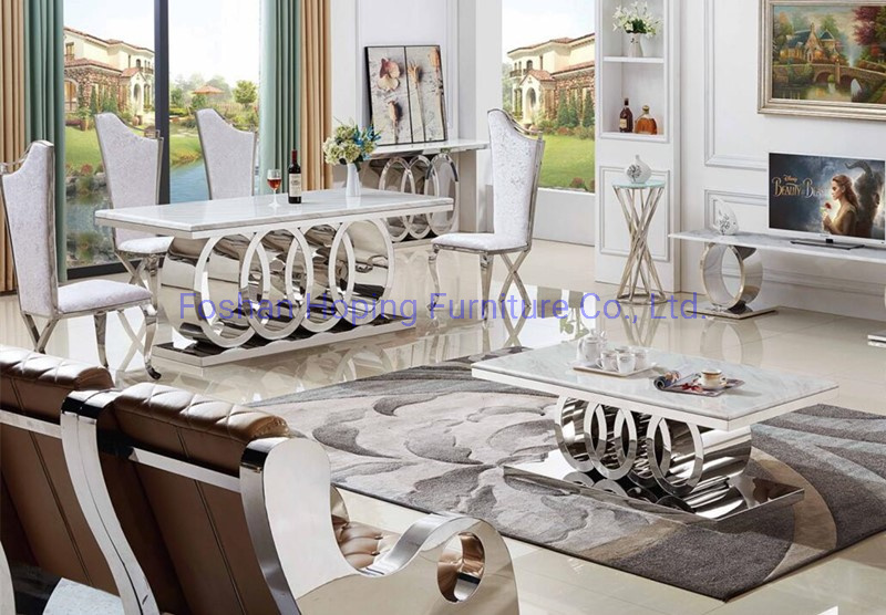 China Designer Dining Table Set High End Quality Stainless Steel Dining Chair For Custom Furniture China Metal Restaurant Chairs White Dining Chairs