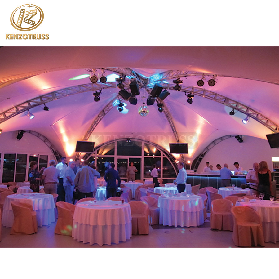 Decorative Wedding Outdoor Ceiling Lighting Truss System