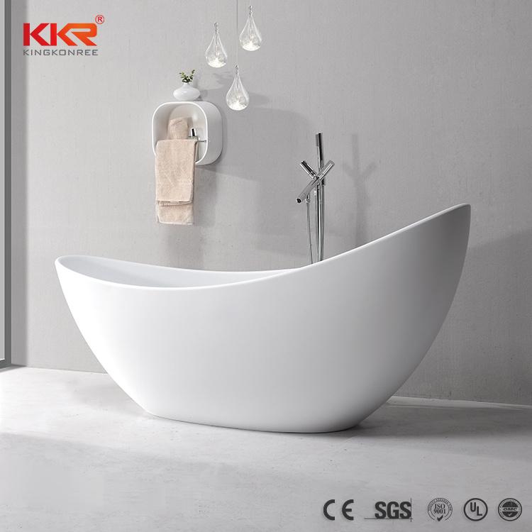 China Hotel Project Resin Bathtub Wholesale Freestanding Bathtub ...