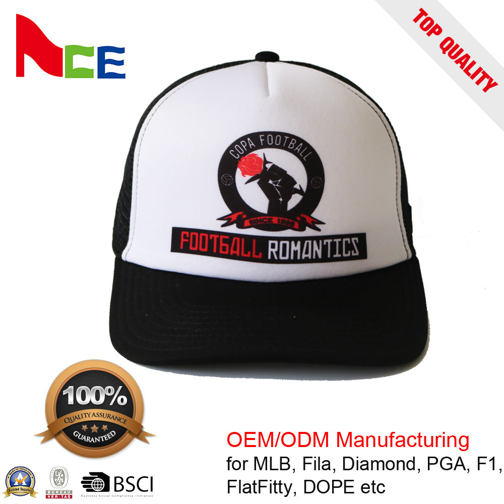 58cec81d4a30a China Promotional Snapback Flat Brim Custom Summer Trucker Cap with  Sublimation - China Sublimation Mesh Cap