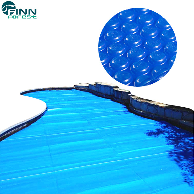 [Hot Item] Customized 400um/500um/600um Thickness Plastic Swimming Pool  Bubble Cover
