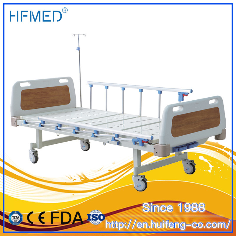 Hospital Furniture Two Crank Two Function Manual Hospital Bed pictures & photos