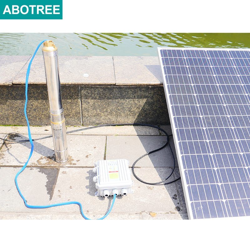 China 3 Inch Solar Dc Water Pump System Solar Powered