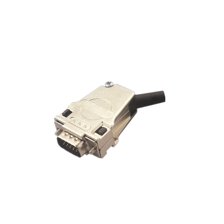 15-Way D Sub Connector Female Socket Connector Solder Lug