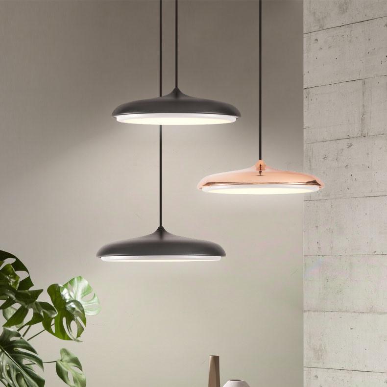 Hot Item Very Design Fashion Modern Rose Gold Kitchen Led Hanging Pendant Light Lighting