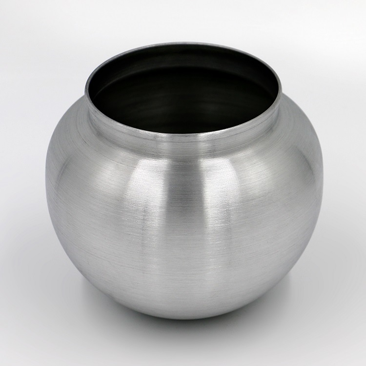 China Round Shape Aluminum Urn We Are Offering Different