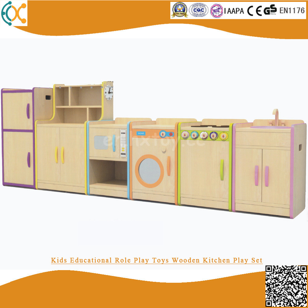 [Hot Item] Kids Educational Role Play Toys Wooden Kitchen Play Set