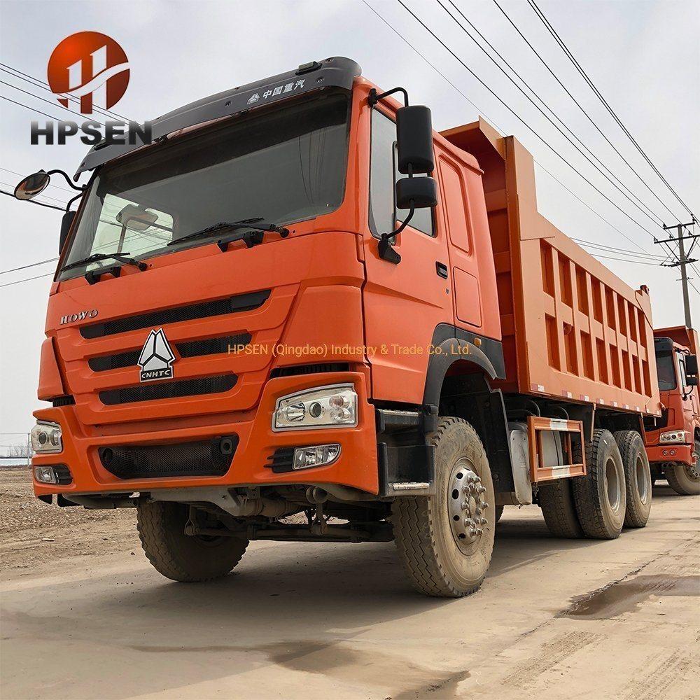6x6 Full Drive Heavy Duty Dump Truck 336HP Sinotruk Howo