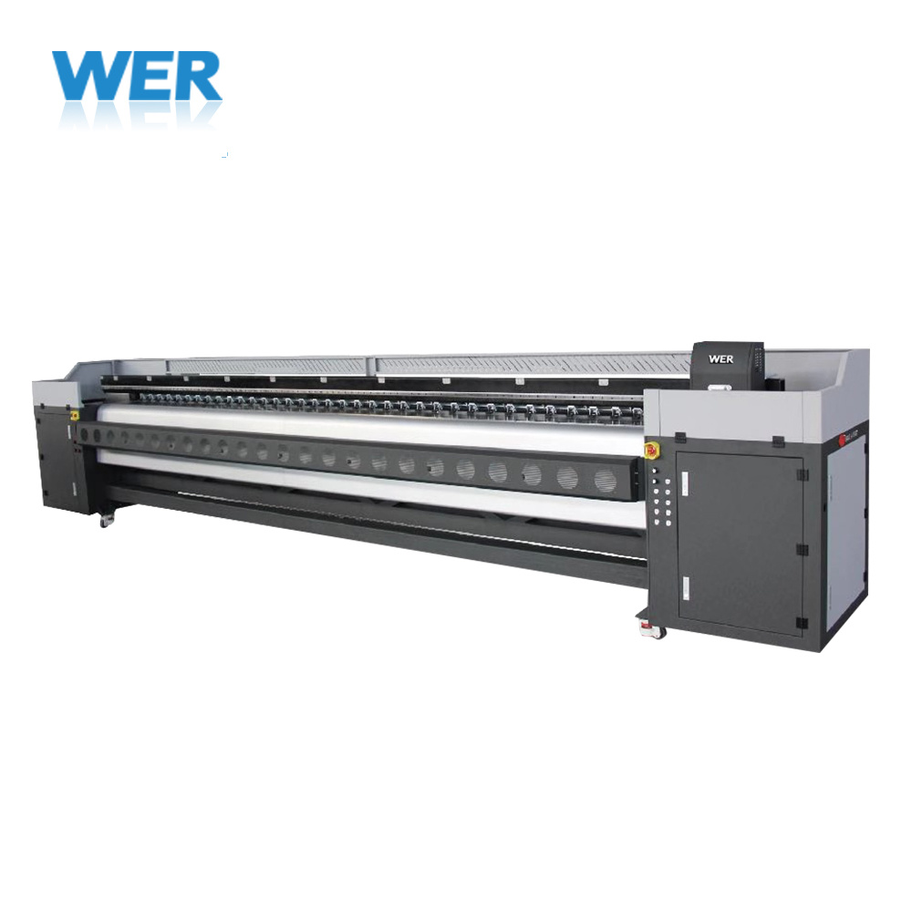 5 M Wide Format Vinyl Printing Machine with Konica Print Head pictures & photos