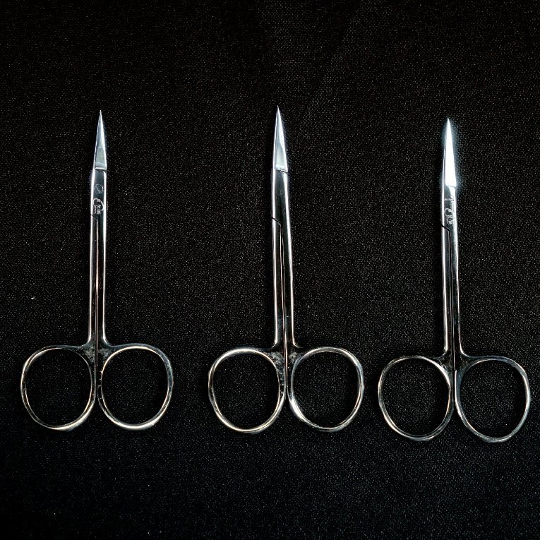 5pc SCISSOR SET STAINLESS STEEL SISSORS NEW