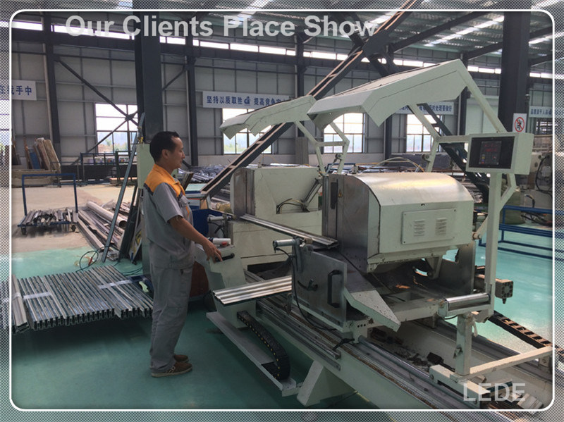 Glazing Bead Saw Machine with Cutting and Chamfering 1 Time for Aluminum Alloy pictures & photos