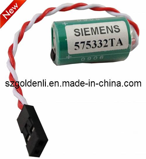 Siemens 575332 3 Volt Lithium PLC Battery CR1//2AA-WSC