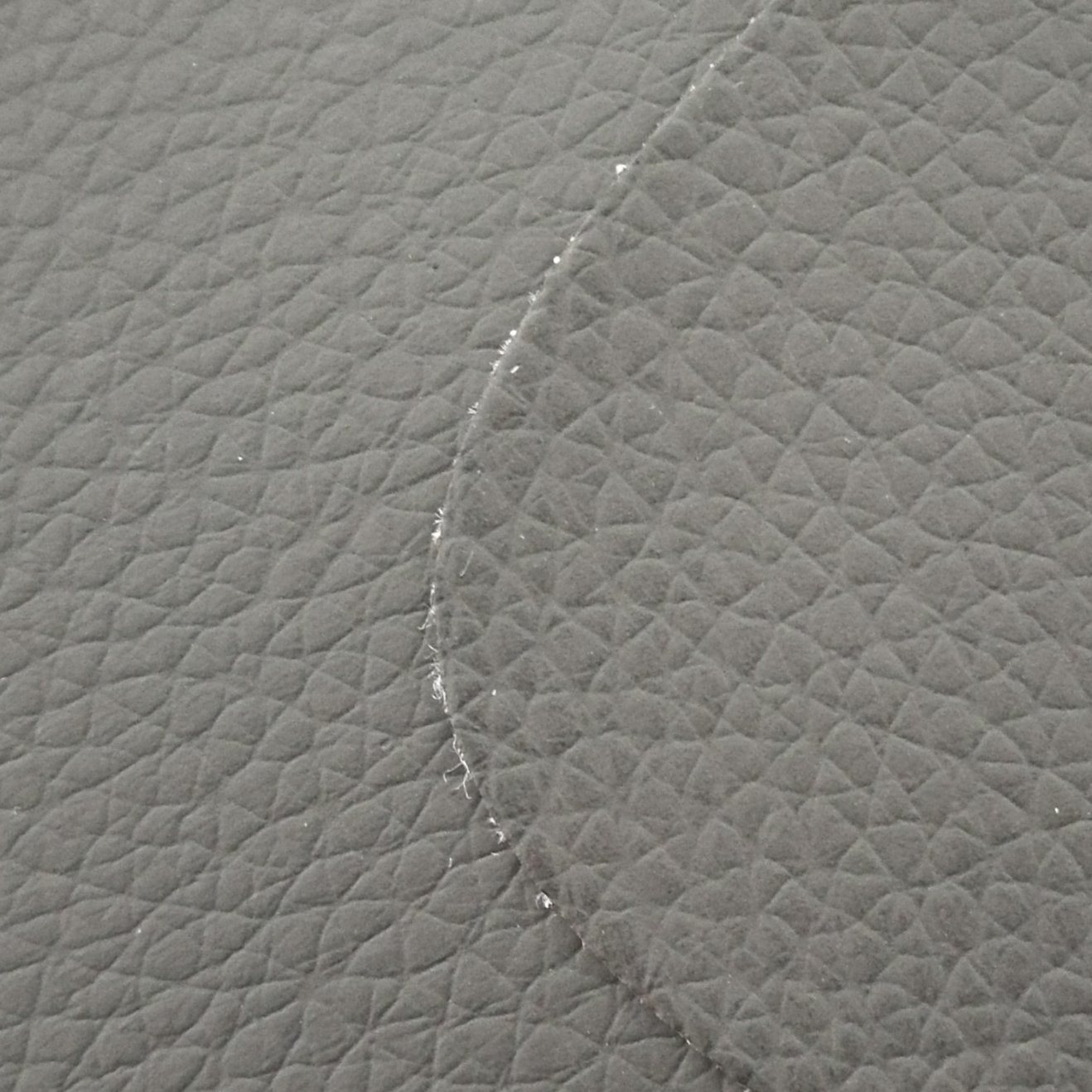 SGS Gold Certification Z008 Litchi Pattern Gray PVC Artificial Leather Car Leather PVC Leather