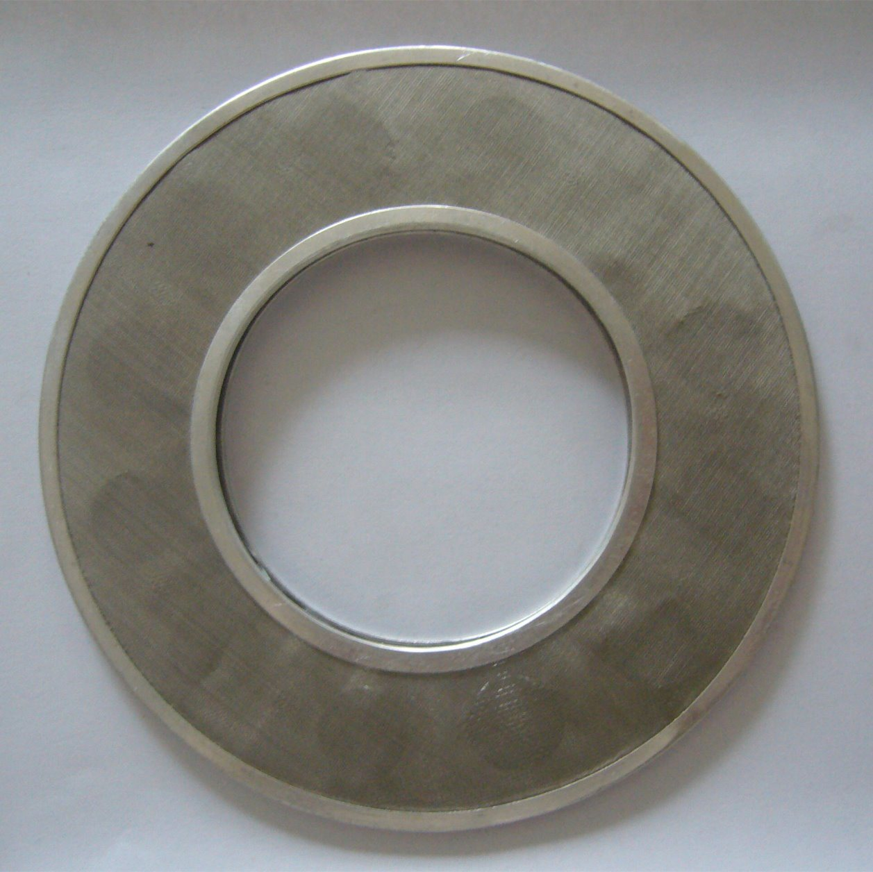China 80 Mesh Black Wire Cloth Filter Disc/Stainless Steel Extruder ...