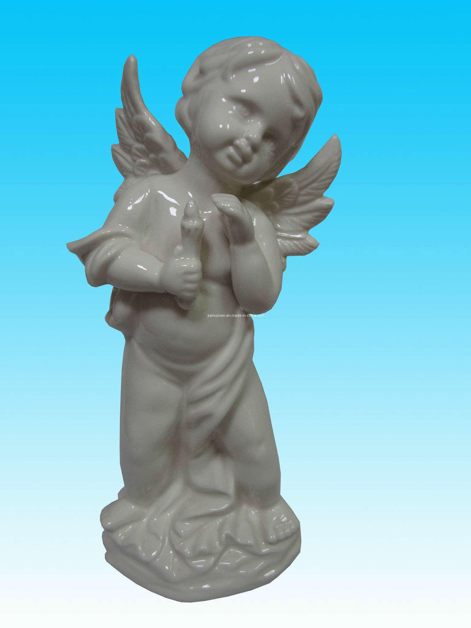 China Ceramic Angel Figurine Kns3071 China Angel