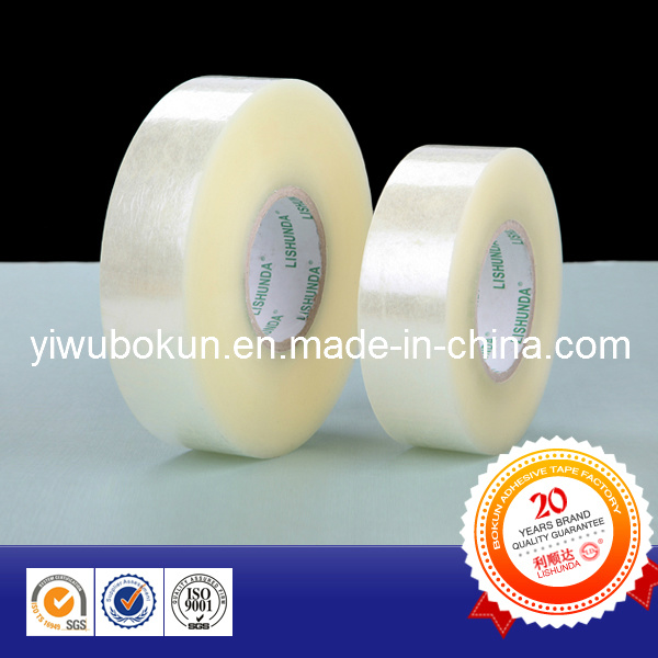 Quality Guaranteed Clear Adhesive Packing Tape in Jumbo (BK001) pictures & photos