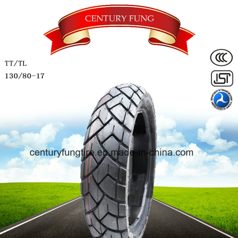 Hot Selling 130/80-17 Motorcycle Tire with DOT Certificate