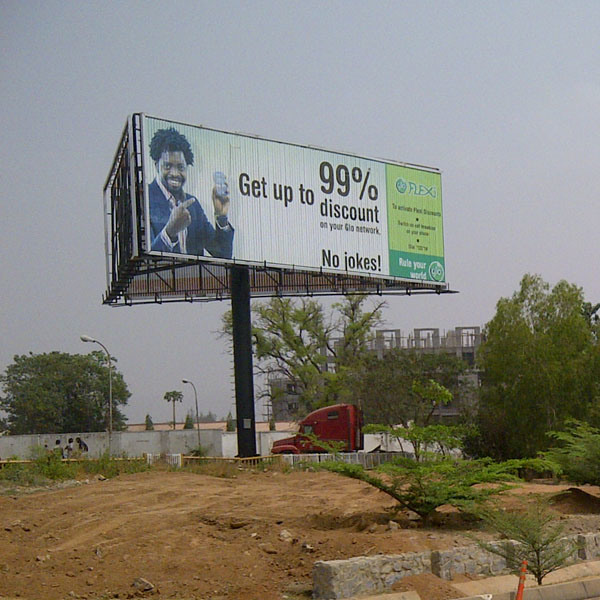 Africa Outdoor Unipole Three Face Trivsion Billboard (F3V-131S) pictures & photos