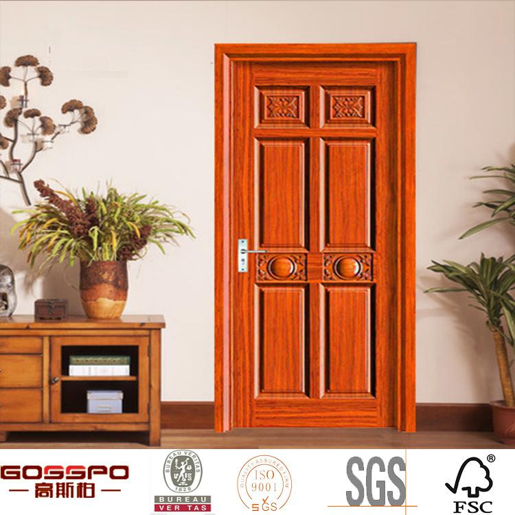 Solid Wood Internal Doors >> Hot Item American Hot Sale Stylish Solid Oak Wood Internal Door Gsp2 052