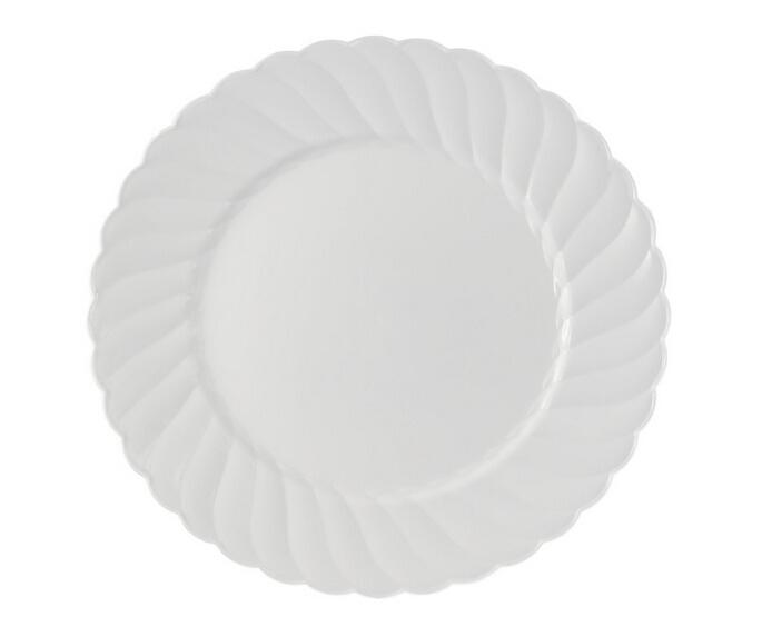 China Premium Hard Clear Plastic Plates - 6\