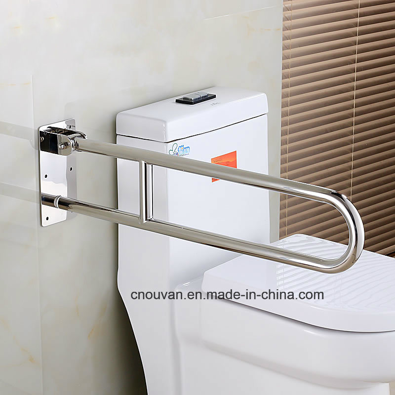 China Stainless steel Fold up Toilet Handrail for Toilet Photos ...