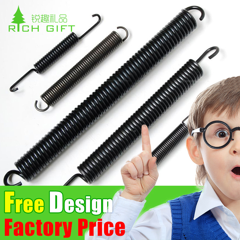 Custom High Precision Stainless Steel Helical Extension Spring with Double Hooks pictures & photos
