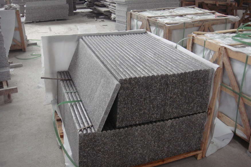 China Grey Color Natural Granite Floor Tile With Cheapest Price