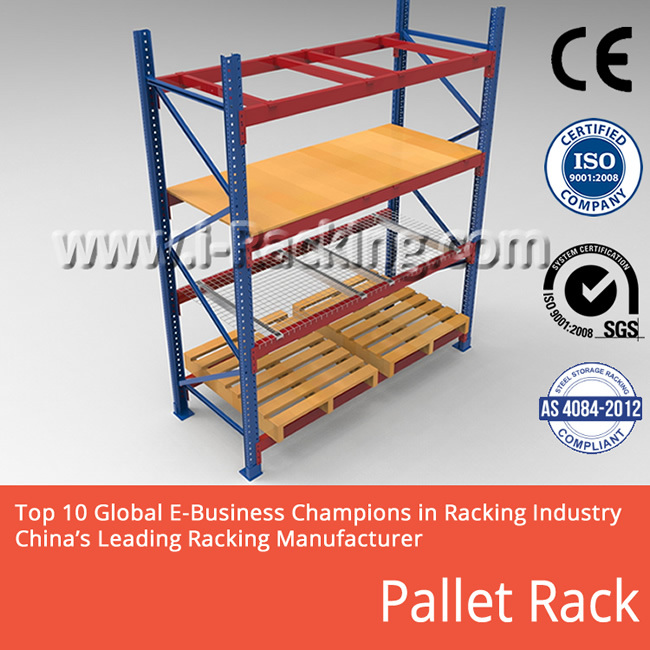 Heavy Duty Pallet Rack For Warehouse Storage Solutions Ira