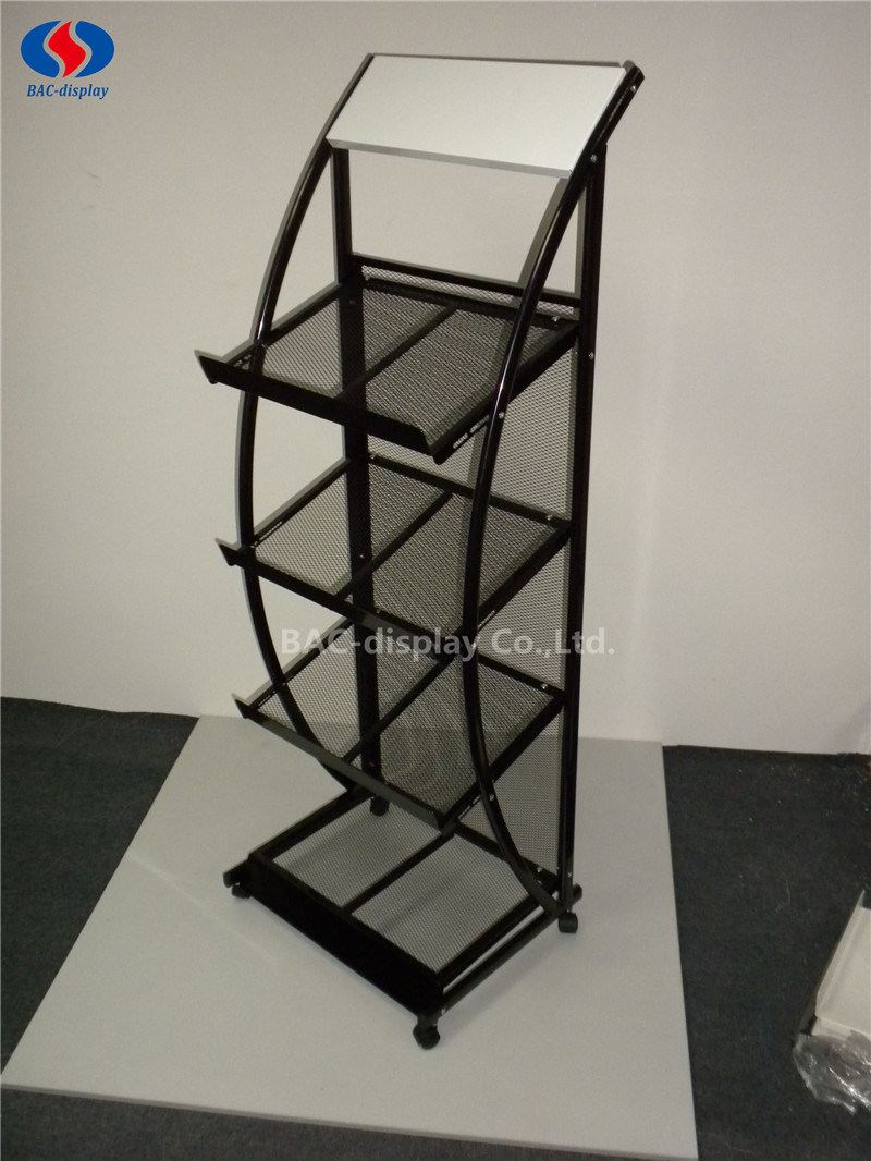 High Quality Metal Brochure Holder Magazine Rack for Office pictures & photos