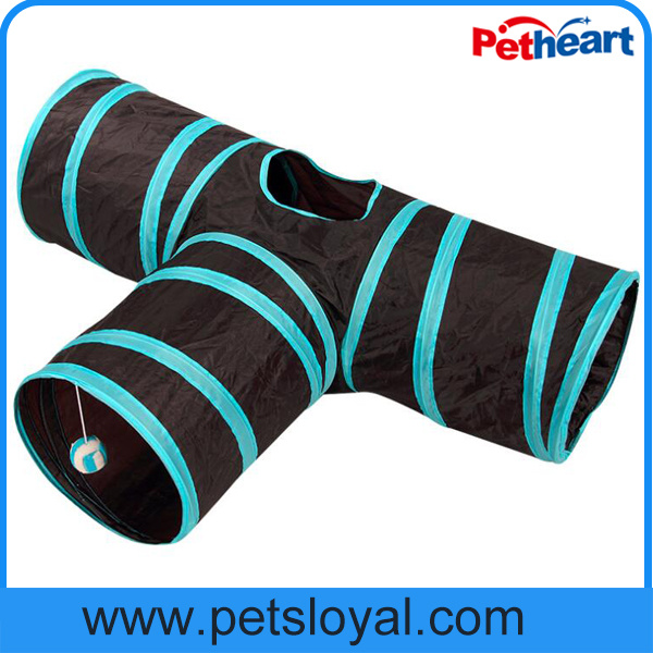 Amazon Hot Sale Foldable Pet Product Supply Cat Tunnel pictures & photos