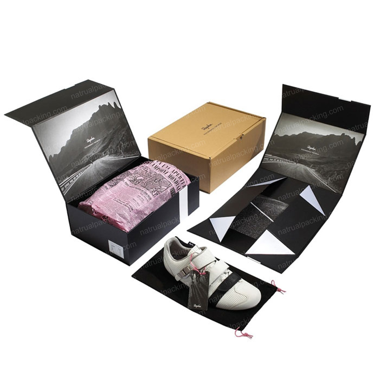 Customized Easy Floded Cardboard Packing Box Storage Box pictures & photos