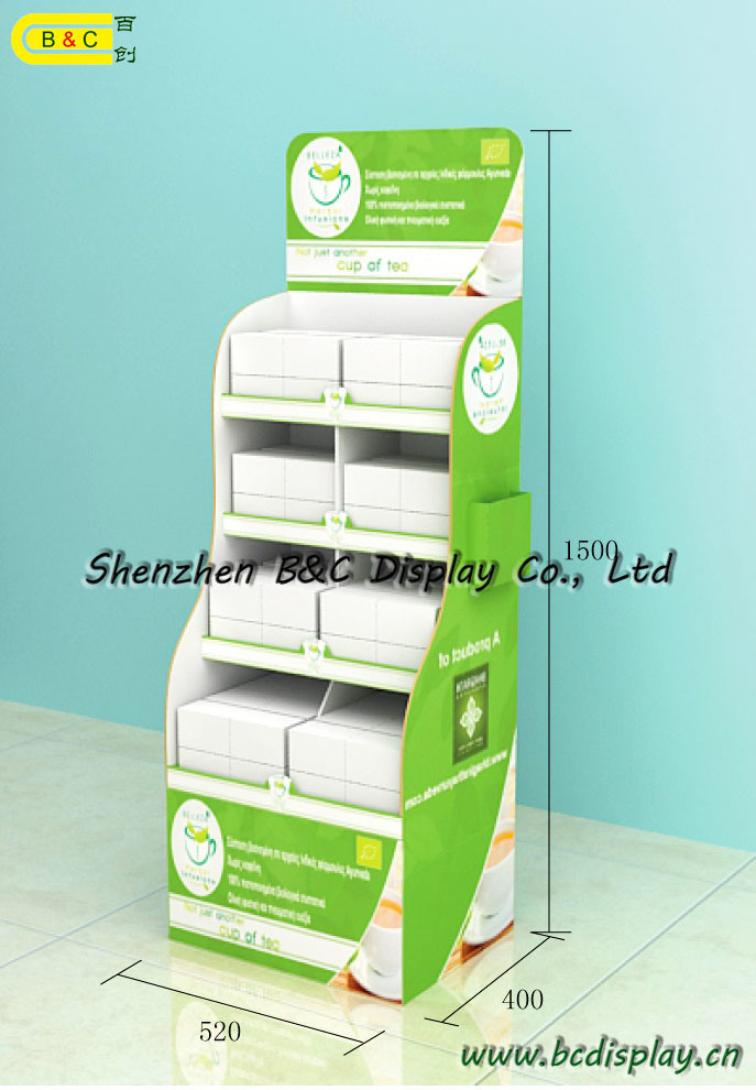 Multifunction Usage Counter Display, Pop Stand, Cardboard Display with SGS (B&C-A090)) pictures & photos