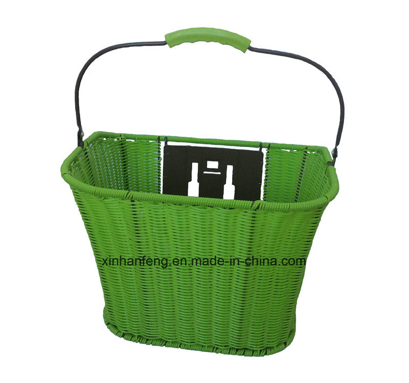 High Quality Hot Sale Rattan Bicycle Basket for Bike (HBG-145)