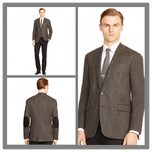 [Hot Item] Made to Measure Elbow Patch European Style Fashion Jacket for  Men (SUIT63055)