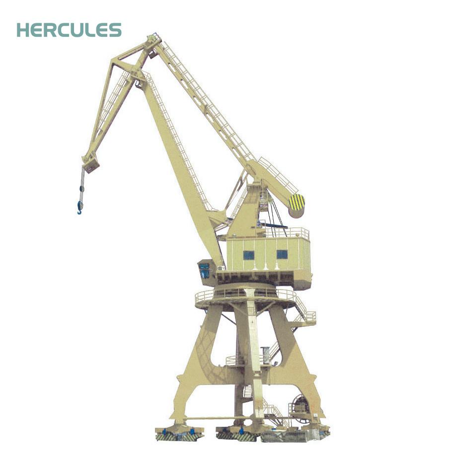 Portal crane: types and characteristics 39