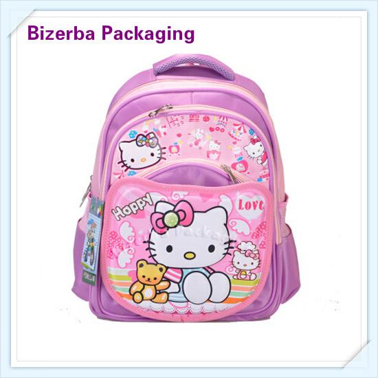 1f1f407a01 2018 Hot Selling Custom Children 3D Cartoon Printing School Backpack Bag  (EQ-003)