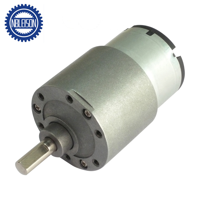12 Volt Motor >> Hot Item 37mm 12volt Low Rpm Dc Geared Motor With Reduction Gearbox