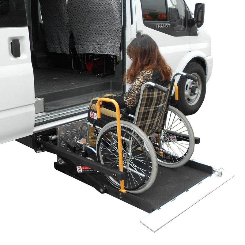 CE Scissor and Hydraulic Wheelchair Lift for Van and Minibuswith Loading Capacity 350kg pictures & photos