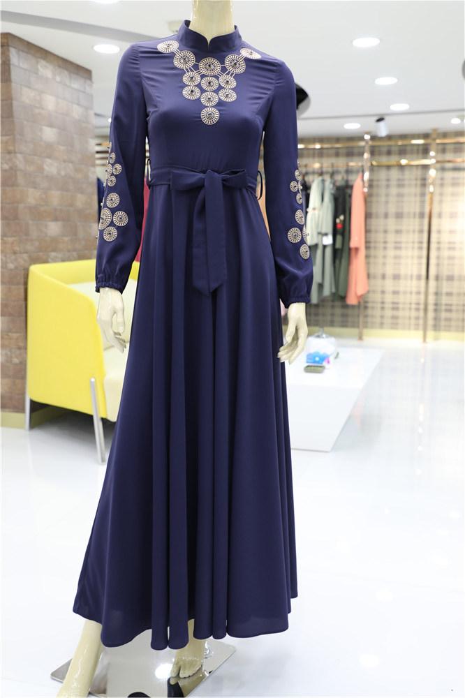 37bd02d6f8 2019 OEM/ODM Design Wholesale Custom Tracksuits Muslim Bodysuit Dress Abaya  Fashion Blouse