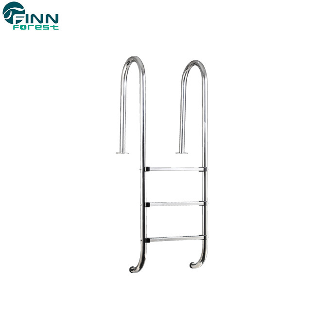 [Hot Item] Factory Supply Stainless Steel 2/3/4/5 Steps Swimming Pool Ladder