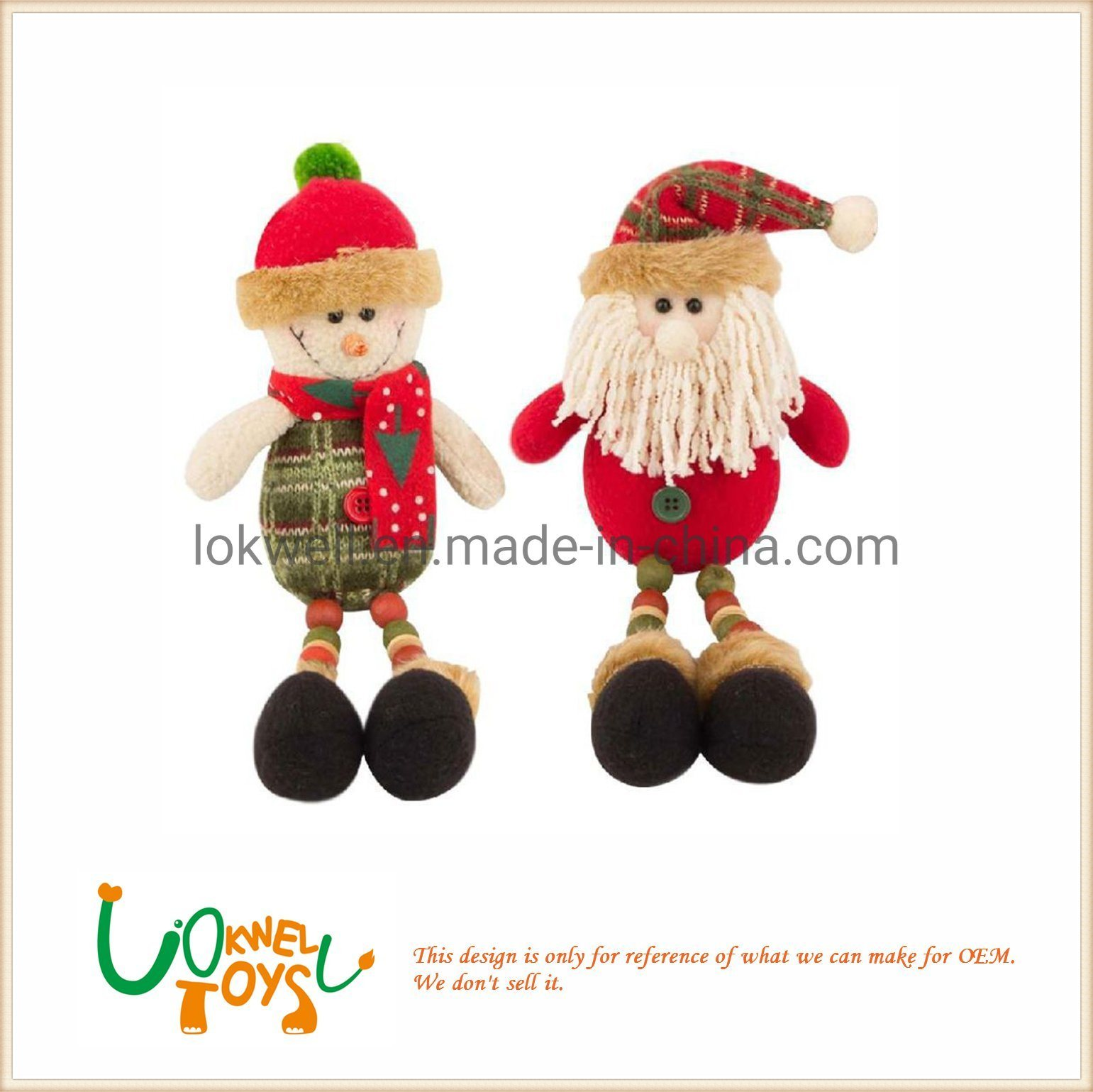 7489d6ae23d6 China Christmas Dolls Plush Toys Christmas Decoration Soft Toys - China  Kids Toy, Baby Toys