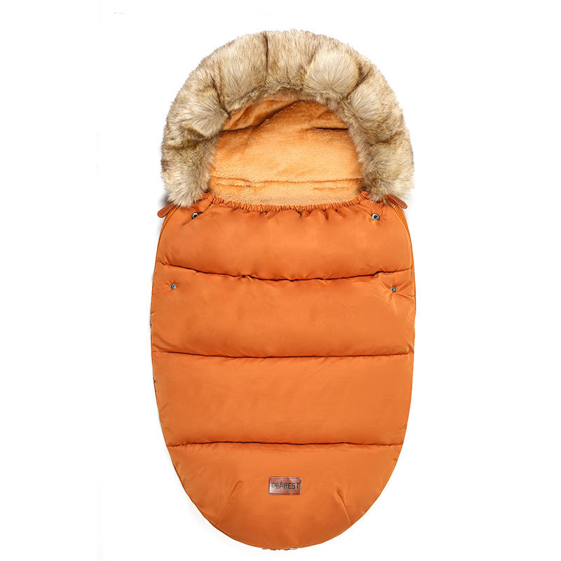 Factory Directly Dearest Wholesale Soft Fur Stroller Sleeping Bag for Baby pictures & photos