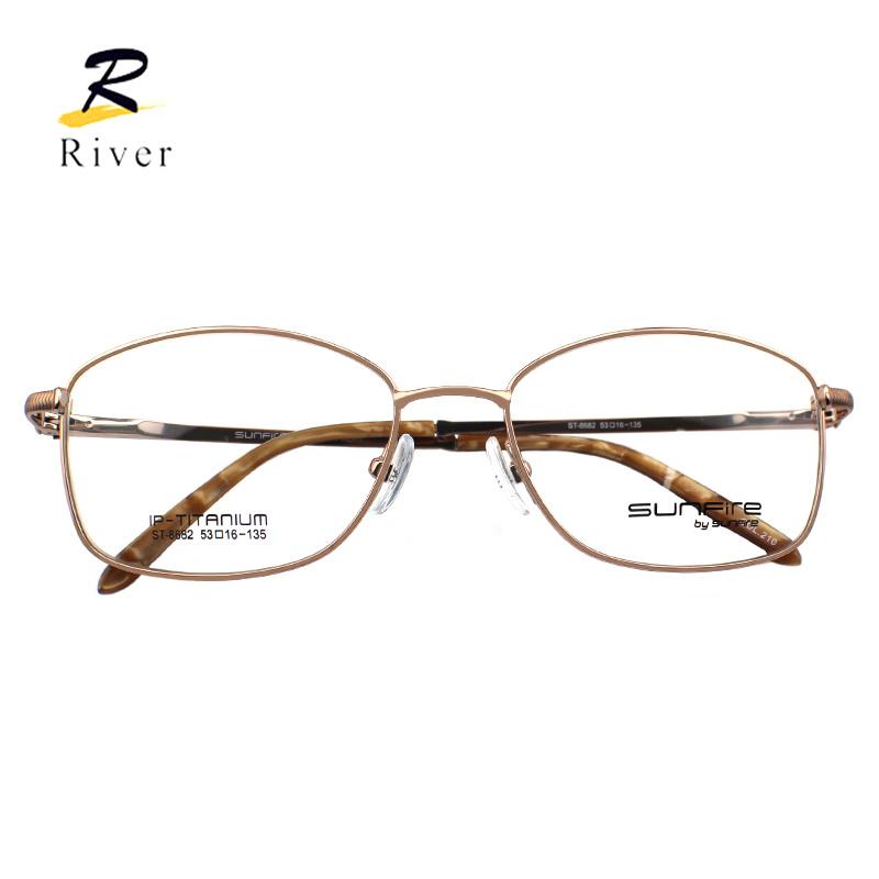 d4df9e669e 8682 Hotsale Titanium Optical Women Top Designer Glasses Eyeglass Frames