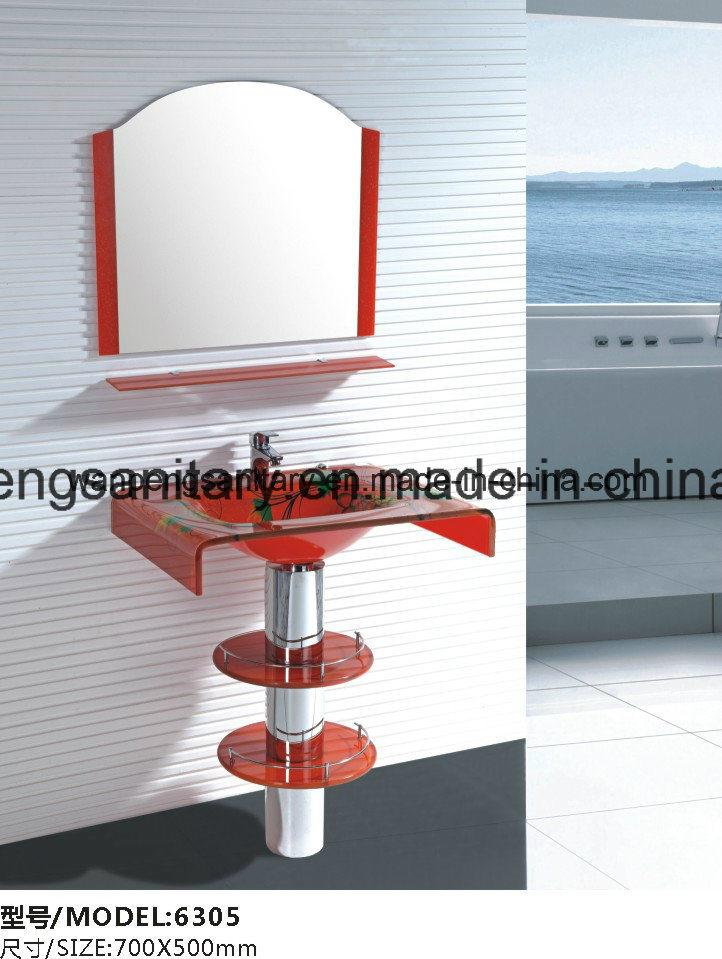 China Modern Glass Wash Basins With Competitive Price Equal The Quality China Glass Basin Glass Wash Basin