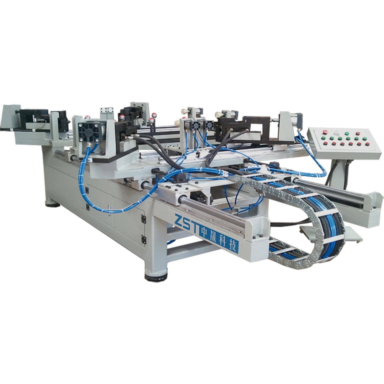 Frame Machine with Hydraulic to Punch