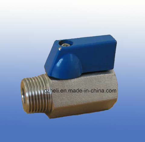 Stainless Steel Mini Ball Valve 400psi