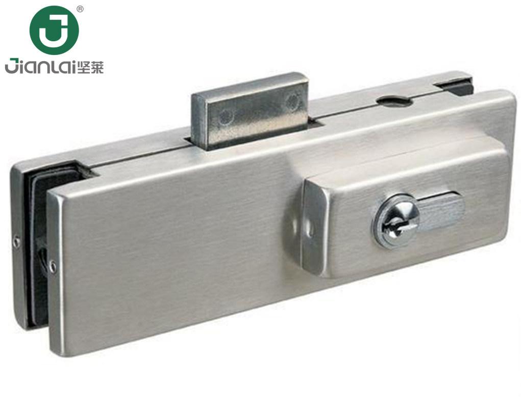China Brass Cylinder Bottom Lock Patch Fitting Glass Door Patch Lock China Patch Fitting Glass Door Patch Fitting
