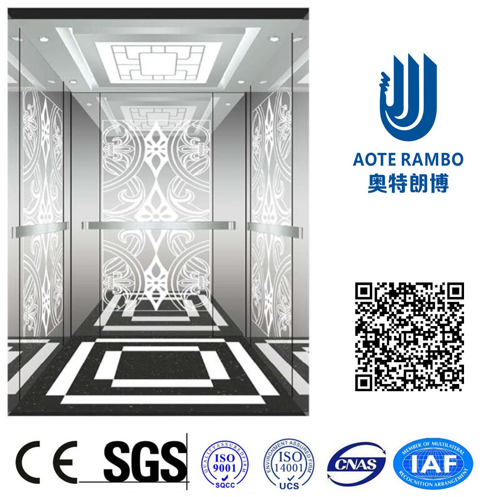 AC Vvvf Gearless Drive Passenger Elevator Without Machine Room (RLS-219)