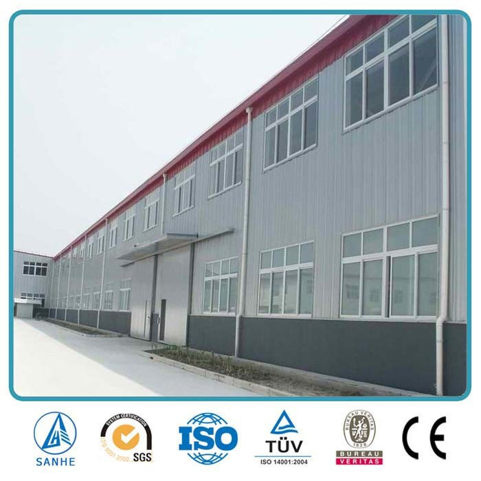 China Easy Installation Corrugated Steel-Work Steel Frame Metal ...